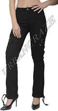 New Womens Combat Trousers Ladies Wide Loose Denim Cargo Jeans Boyfriend Pants