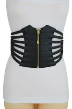 054c0c4010e Women Black Wide Elastic Waistband Fashion Corset Belt Hip High Waist XL XL  XXL