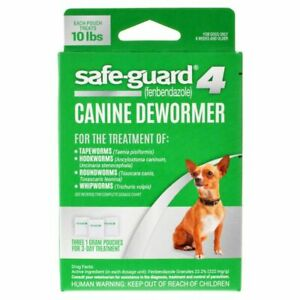 8 in 1 Pet Products Safe-Guard 4 Canine Dewormer Small , Medium and large Dog