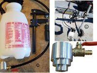 "Motive Products Pressure Brake Bleeder Rectangular Master Cylinder 6/"" x 3-3//4/"""