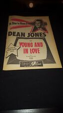 Dean Jones Young And In Love Rare Original Promo Poster Ad Framed!