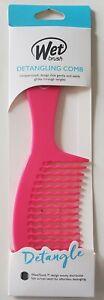 Wet Brush Detangling Comb Wave Tooth Design For Effortless Detangling All Hair