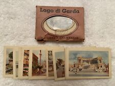 43 Miniature Photos—Lake Garda+Rome—1920s+30s— Extremely Rare—Gotta C
