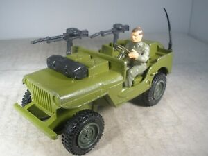 Dinky Toys Military Army  COMMANDO JEEP #612 COMPLETE OUTSTANDING