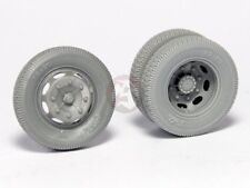 Panzer Art 1/35 Road Wheels for KHD S3000 Lkw Truck WWII (Commercial) RE35-352