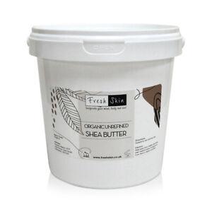 Shea Butter Organic - Unrefined, Cold Pressed, 100% Pure, Raw & Natural