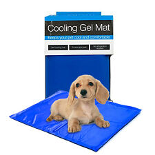 "Large Pet Cooling Gel Pad Mat Bed Comfort Chilly Cool Dogs Cats Portable 19""x26"""
