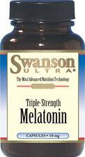 Swanson ULTRA TRIPLE STRENGTH MELATONIN - 10mg - 60 Capsules