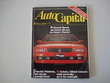 AUTOCAPITAL 1/1990 MASERATI SHAMAL/PHANTER SOLO/JEEP LAREDO/TERRANO/ZENDER FACT