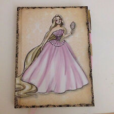 Disney Designer RAPUNZEL Doll JOURNAL Notebook Pen BOOK Set -  Fairytale