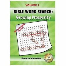 BIBLE WORD SEARCH: Growing Prosperity : Christian Meditation Scriptures and...