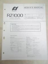 SANSUI Service Manual ~ RZ-1000 Receiver ~ Original ~ Reparatur