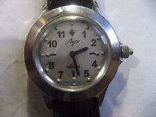 Luch Ray Soviet Russian WATCH FOR THE BLIND ,quartz