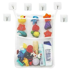 Badewannen Spielzeug Aufbewahrungsnetz, Organizer Spielzeug Bad, Spielzeugnetz