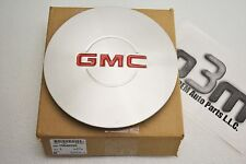 1995-2005 GMC Sierra Wheel Center Hub Cap Brushed Silver new OEM 15040220