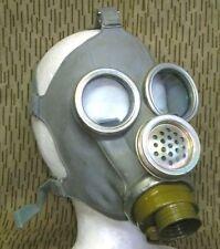 NVA Gasmaske MM1 Schutzmaske grau gebraucht 60er Jahre Größe 2