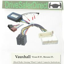 SWC-8418-01J Steering Control, ISO-JOIN for Chinese Radio/Vauxhall Vivaro B 15-
