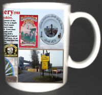 LINBY COLLIERY COAL MINE MUG LIMITED EDITION GIFT MINER NOTTINGHAMSHIRE PIT