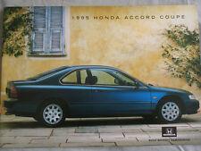 Honda Accord Coupe range brochure Mar 1995