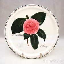 """Villeroy & Boch 2002 NEW YEAR Collector Plate """"Camellia collettii"""" 9 1/8"""" EXC"""