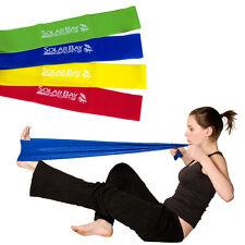 La resistencia del 4pc Banda Set Yoga Pilates Crossfit Entrenamiento Físico fisioterapia ayuda