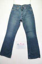 Levi's 525 Bootcut Indigo (Cod. E1349)Tg45 W31 L34 jeans usato Vita Alta vintage