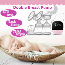 Electric Double Breast Pump Nursing Mom Milk Breastfeeding Pump Massage Portable