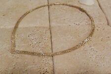 Sterling Silver 925 Italy RICCIO Collar Necklace Great Gift Idea!