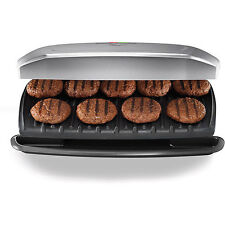 George Foreman 144-sq in 9 Serving, Classic-Plate Grill & Panini Press, GR2