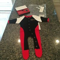 PORSCHE DESIGN MY FIRST RACING SUIT BABY ROMPER SUIT AGES 3~6 MONTHS. NIB/NOS!
