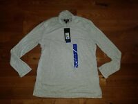 NWT Women's Silver Combo JONES NEW YORK Turtleneck Top Size XS X-SMALL