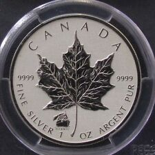 2012 Canada Silver Maple Leaf $5 w/ Titanic Privy PCGS SP Gem Reverse Proof