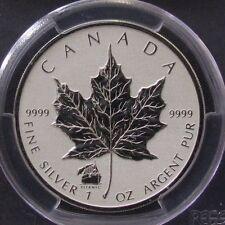 2012 Canada Silver Maple Leaf $5 w/ Titanic Privy PCGS SP Gem Reverse Proof