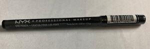 NYX Professional Makeup Eyebrow Pencil Black - 0.04oz