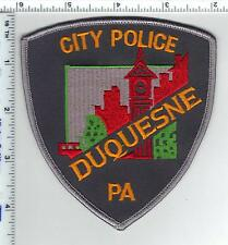 Duquesne City Police (Pennsylvania) 4th Issue Shoulder Patch