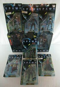 Spawn Movie Series Action Figures Complete Set of 9 McFarlane Toys 1996 MOC MIB
