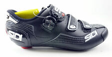 SIDI Alba Road Shoes Men's Size US 10.25 EUR 44.5 Black 3 Bolt