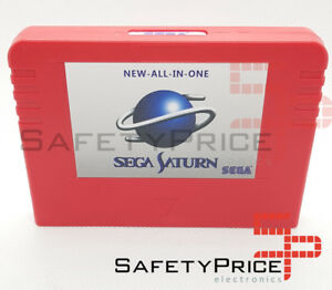 Sega Saturn PSEUDO All in One cartucho chip Region Free Direct Reading SS