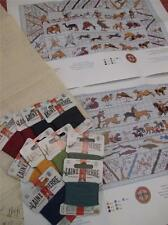 Sajou museum & heritage cross stitch kit-the bayeux tapestry animaux