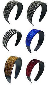 "Set of 3 2"" Wide Band Bling Bling Headbands, 3 Count Hair Bands NI86012-24611-3"