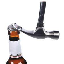 Stahl-Hammer mit Flaschenöffner Bierhammer Bier Flaschen Öffner Feierabendhammer