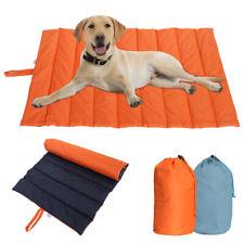 Indestructible Dog Bed Waterproof Pet Mat Mattress Portable Travel Sleep Cushion