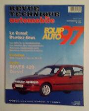 RTA ROVER 420 diesel revue technique automobile