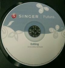 Singer Futura XL 400,420,500,550,580 & SESQ Advance Editing Software & Bonus