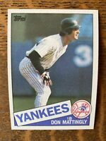 1985 NEW YORK YANKEES Topps COMPLETE MLB Team Set 32 Cards MATTINGLY WINFIELD AS