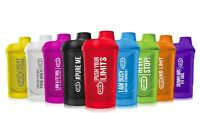 Rainbow Protein Shaker Bottle 10 Fresh Colors Motivating Signs Gym BPA Free