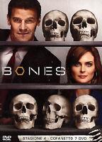 Bones - Serie Tv - Stagione 4 - Cofanetto Con 7 Dvd - Nuovo Sigillato