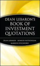 Investment Quotations, Pitchford, Vaitilingam, LeBaron, New
