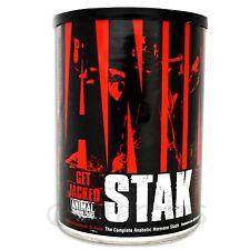 Universal Animal Stak - 21 Packs Natural ZMA Testosterone Booster Free P&P