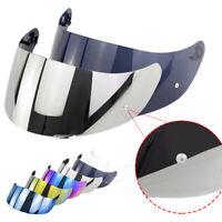 FP- Motorcycle Wind Shield Helmet Lens Visor Full Face Fit for AGV K1 K3SV K5 DE